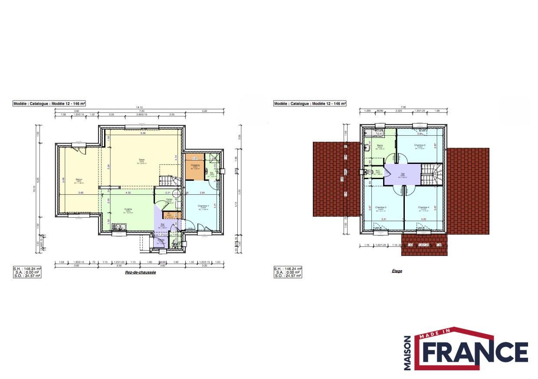 Maison typique de la picardie for Plan maison 2016