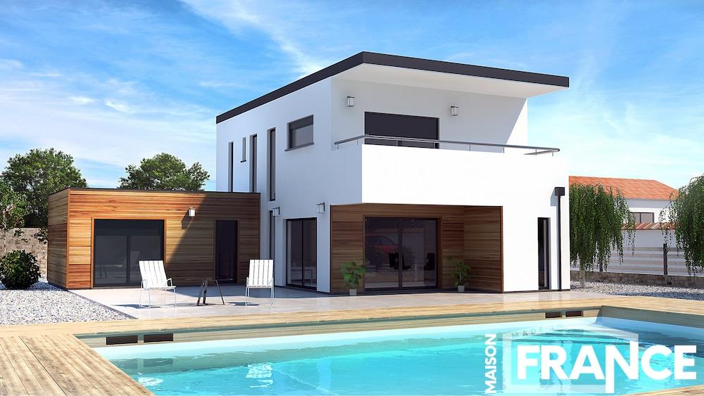 Charentaise maison neuve en charente maritime - Modele d architecture de maison ...