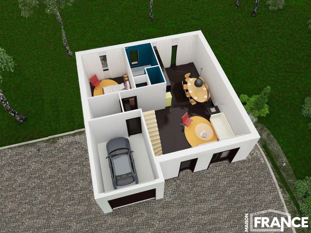 maison pas cher construire partout en france. Black Bedroom Furniture Sets. Home Design Ideas